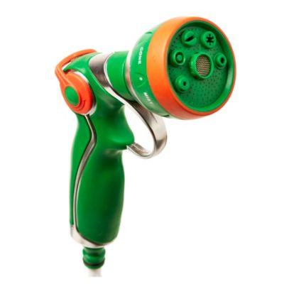 Pistola 7 funciones de metal con mango antideslizante