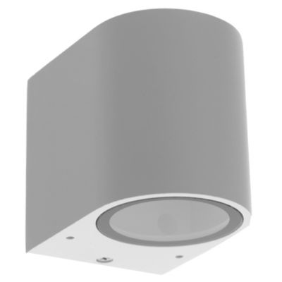 Aplique para exterior adriel 2 luces gu10 blanco