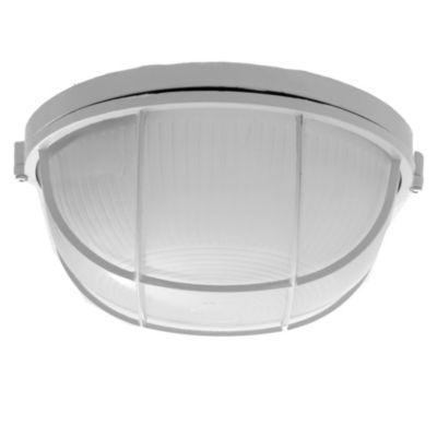 Tortuga aluminio redonda 100 w reja blanco