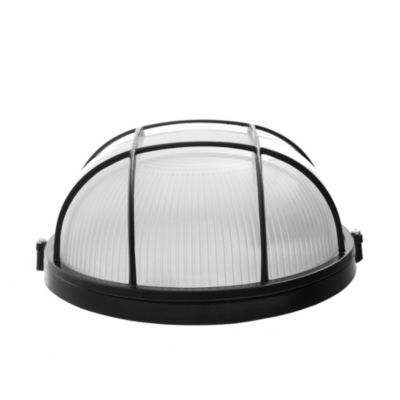 Tortuga aluminio redonda 100 w reja negra