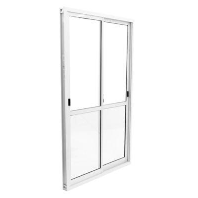 Ventana de aluminio 150 x 200 cm blanca