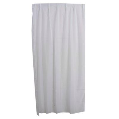 Cortina velo blanco para riel 110 cm x 220 cm
