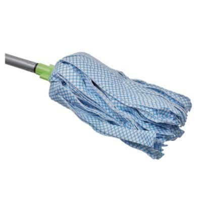 Mopa no tejida con mango de metal