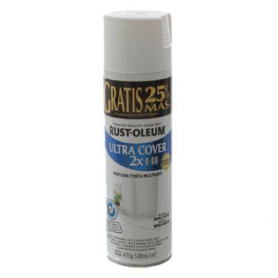 Pintura en aerosol multiuso ultra cover 2 x bla...