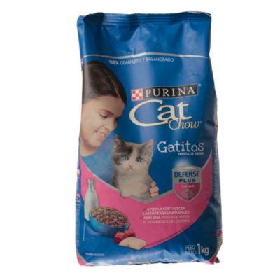 Cat Chow gatitos x 1 kg