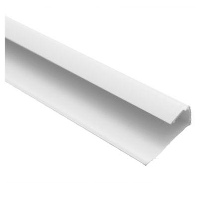 Perfil borde 1 cm x 3 m blanco