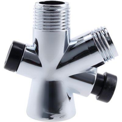 Válvula plástica cromada