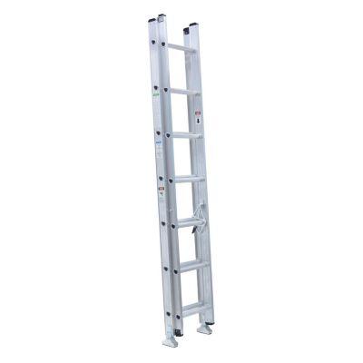 Escalera extensible aluminio 14 escalones 4,27 m