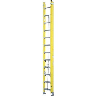 Escalera extensible aluminio 24 escalones 7,32 m