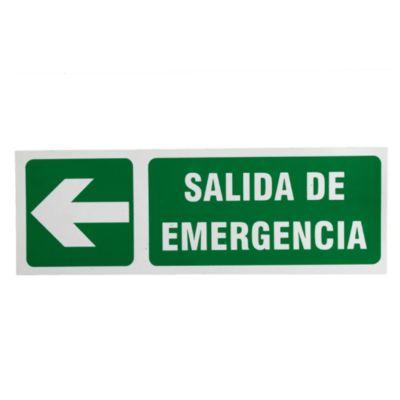 Cartel salida de emergencia 30 x 40 cm