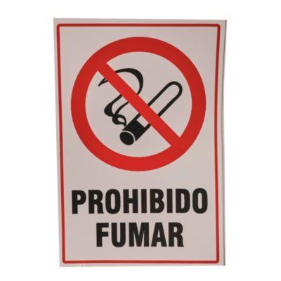Calco prohibido fumar 10 x 15 cm