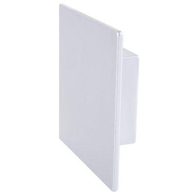 Pomo de cromo cuadrado 52 mm