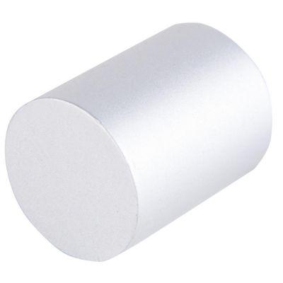 Pomo de aluminio 30 mm gris