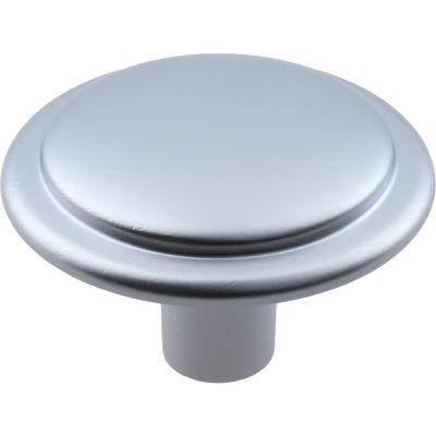 Pomo de níquel 30 mm plateado
