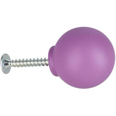 Bola de plástico 29 mm morada