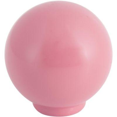 Bola de plástico 29 mm rosa