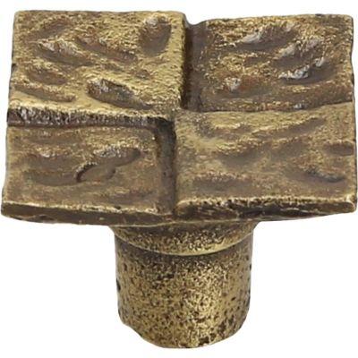 Pomo de metal 26 mm dorado