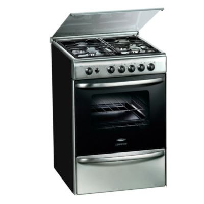 Cocina a gas 18600XF 60 cm 4 hornallas inoxidable