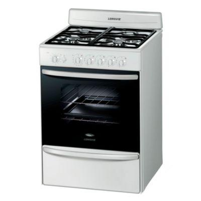 Cocina a gas 18601BF 60 cm 4 hornallas blanca