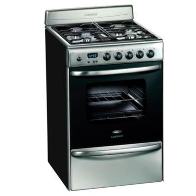 Cocina a gas 20501XF 56 cm 4 hornallas inoxidable