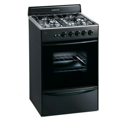 Cocina a gas 13331GF 56 cm 4 hornallas gris