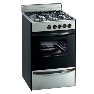 Cocina a gas 13231xf 56 cm 4 hornallas inoxidable