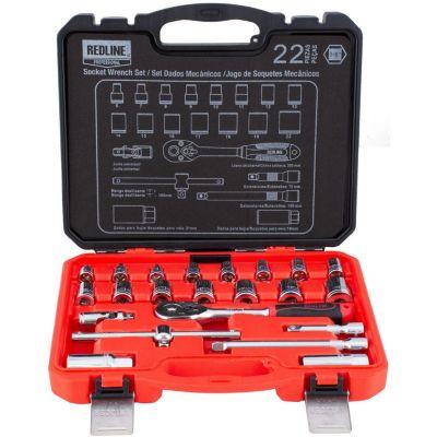 Kit de herramientas manuales de 22 piezas