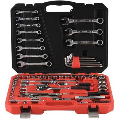 Kit de herramientas manuales de 92 piezas