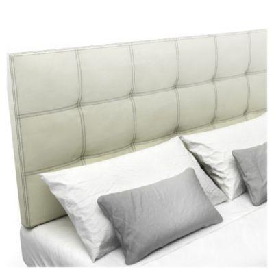 Respaldo de cama Bellagio blanco