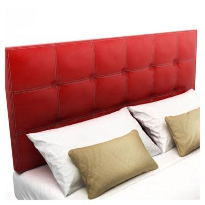 Respaldo de cama Bellagio rojo