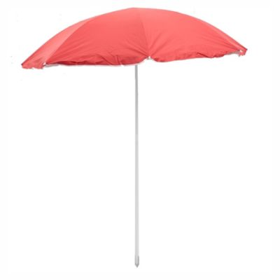 Sombrilla para playa 1,8 m Upf + 100 rojo
