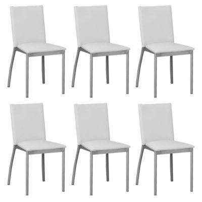 Set de 6 sillas Viedma manteca