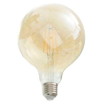 Lámpara LED filamento Ámbar 6 W E27