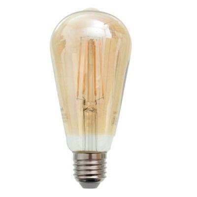 Lámpara LED filamento Ámbar 7 W E27