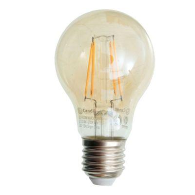 Lámpara LED filamento Ámbar 4 W E27