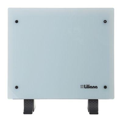 Panel vitrocerámico 1200 w blanco