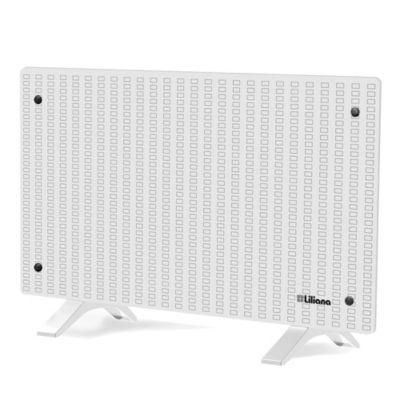 Panel calefactor de vidrio con turbina 2000 W Liliana gris claro