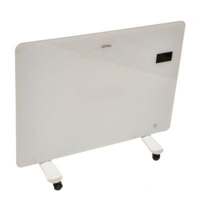 Convector vitrocerámico 1500 W digital Atma blanco