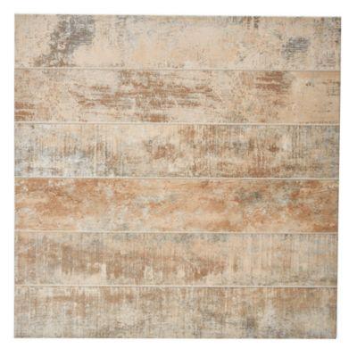 Porcelanato 62 x 62 Madera Patinada marrón 1.92 m2
