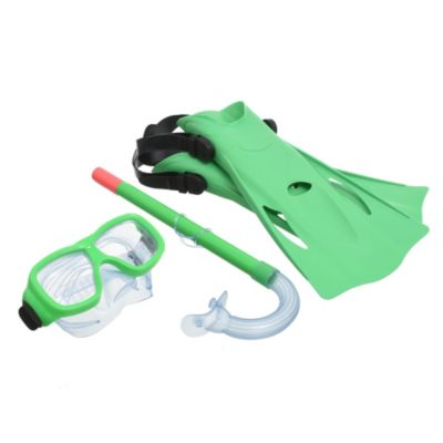 Set snorkel con patas de rana