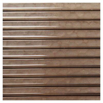 Policarbonato Alveolar 4 mm bronce 1.05 x 1,45 m