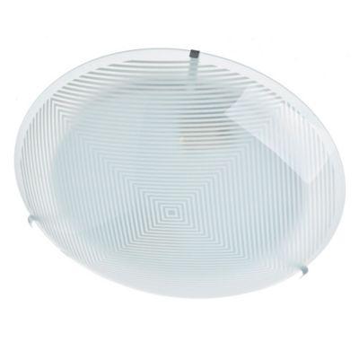 Plafón de vidrio serigafiado Infi 30 cm 2 luces E27