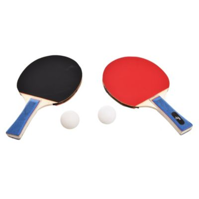 Pack con paletas 8 mm y pelotas de ping pong