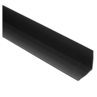 Angulo 1 pvc negro 2,80 m