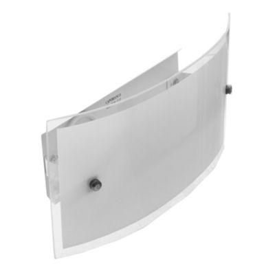 Aplique de vidrio rectangular Lisboa 1 luz E27