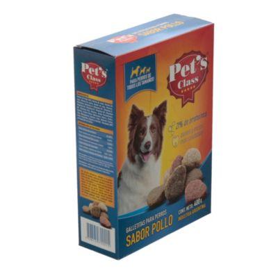 Galletas de pollo y leche x 400 g