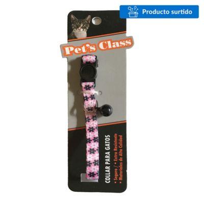 Collar casual con cascabel para gato