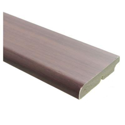 Zócalo PVC wengue 1,5 x 7 x 240 cm