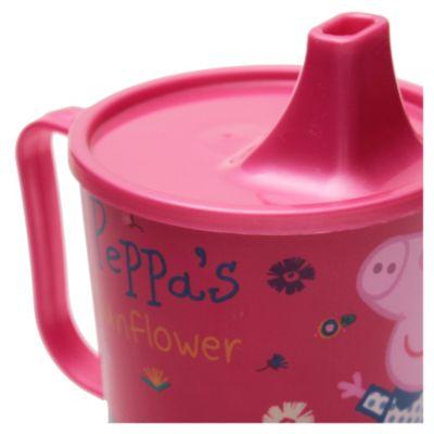 Taza con pico para bebe Peppa Pig