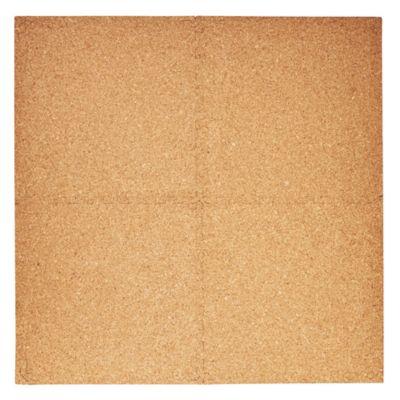 Alfombra Puzzle corcho 60 x 60 cm 4 piezas